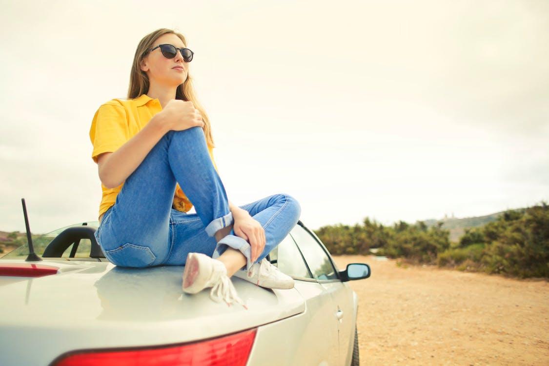 adulto, automóvel, carro