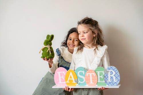 イースター, ウサギ, うれしいの無料の写真素材