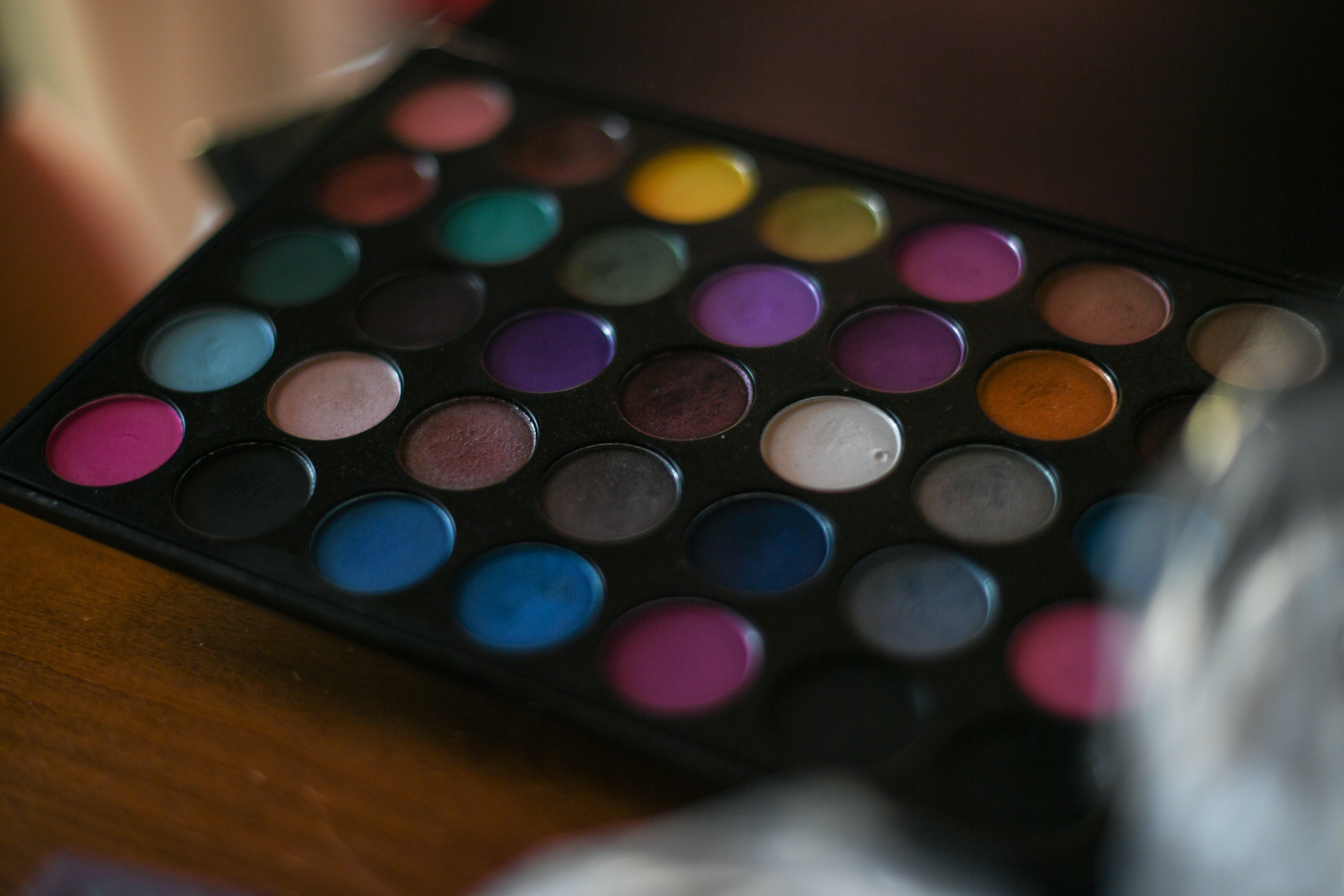 Colorful Make Up Palette