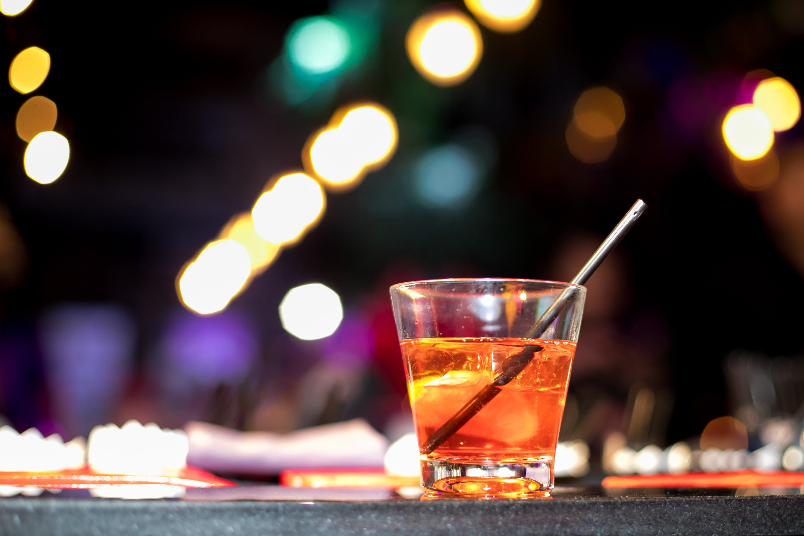Free stock photo of alcohol, bokeh, cocktail glass, light
