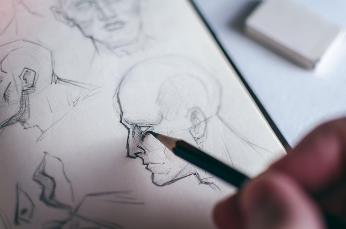 Fotos de stock gratuitas de Arte, artista, bloc de dibujo