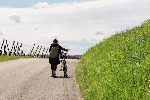 Ảnh lưu trữ miễn phí về con gái, đàn bà, quý bà, xe đạp