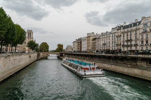 Free stock photo of france, paris, river