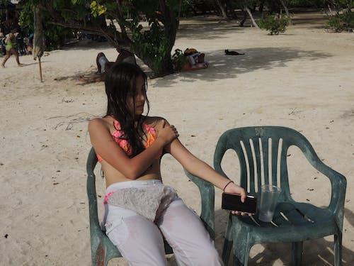 Free stock photo of beachlover, girls, resting
