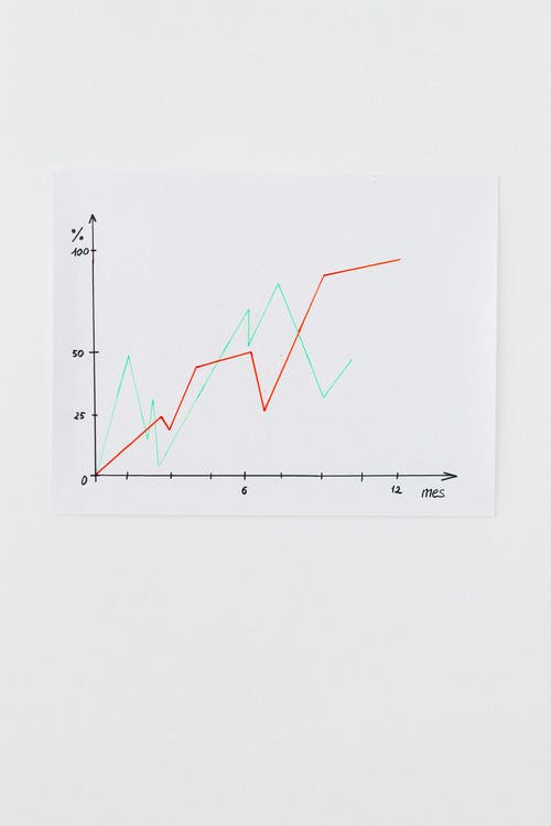 White Paper With Black Line