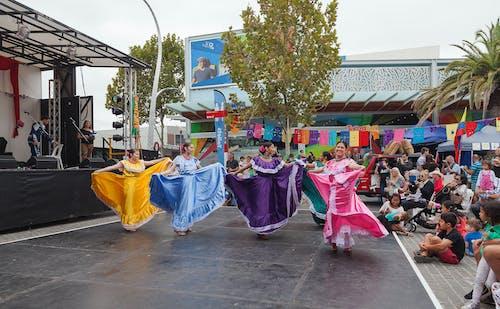댄서, 드레스, 멕시코의, 축제의 무료 스톡 사진