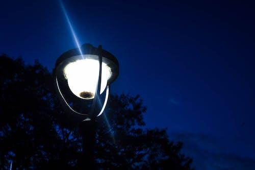 Gratis lagerfoto af gadelygte, gadelys, lys, nattelys