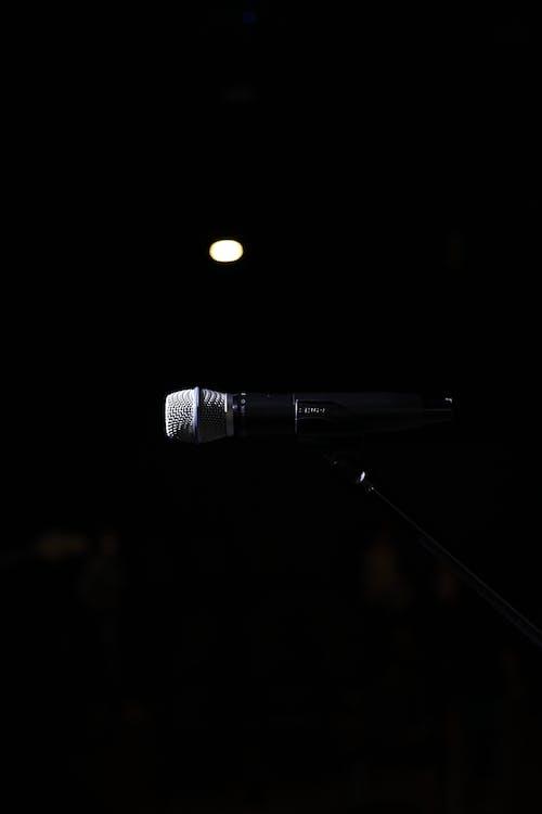 マイクロフォノ, 器用な, 音楽の無料の写真素材