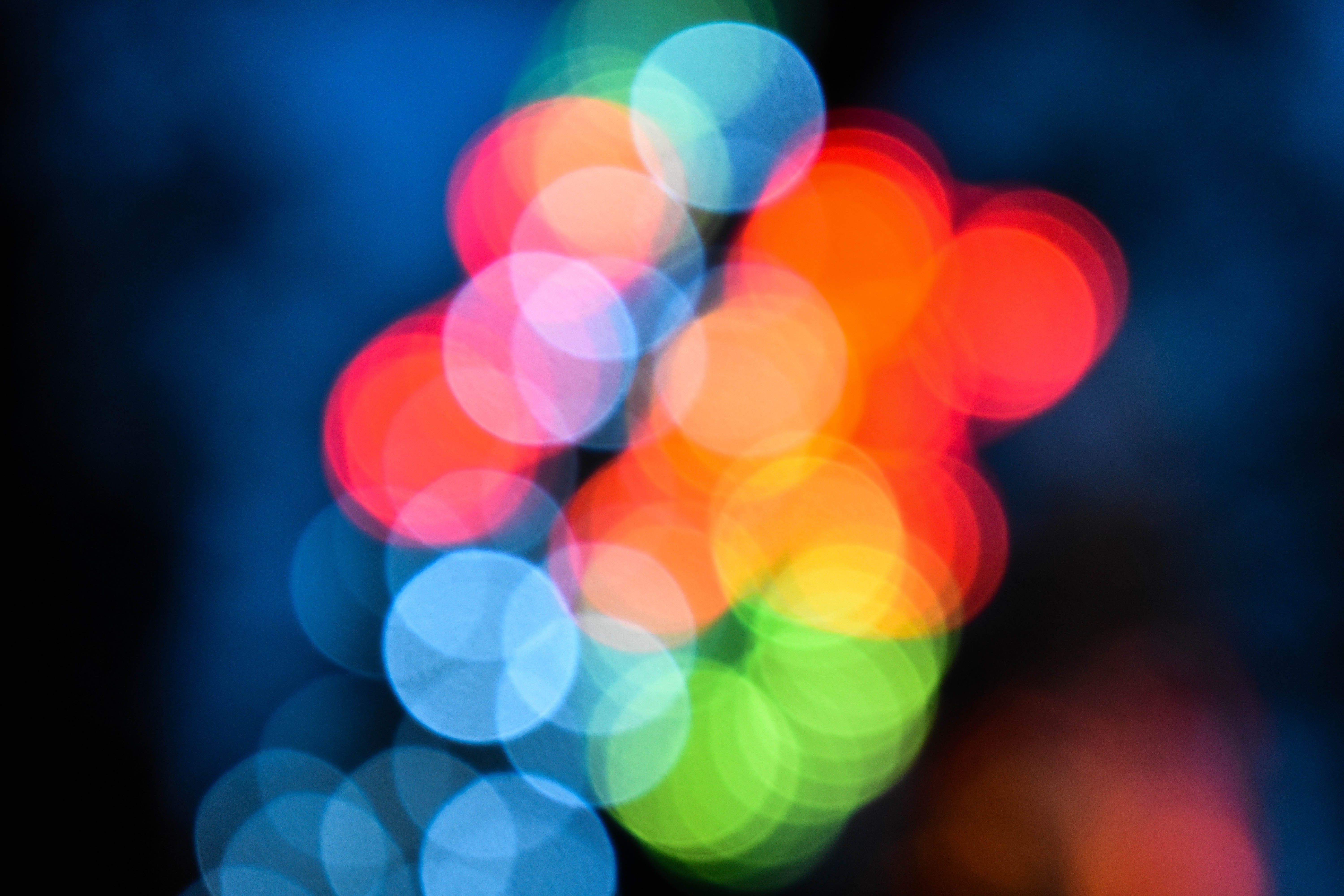 Free stock photo of lights, blurred background
