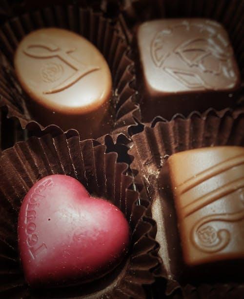 Free stock photo of belgian, chocolate, heart