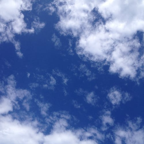 Free stock photo of blue sky, white clouds