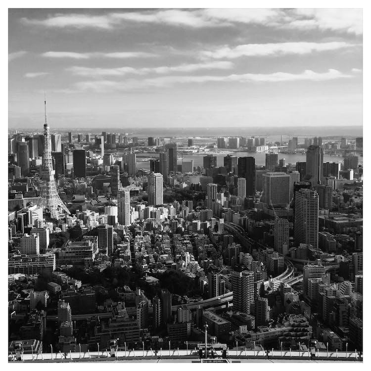 Free stock photo of city, japan, panorama