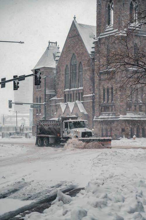 Free stock photo of archicture, architecture, blizzard