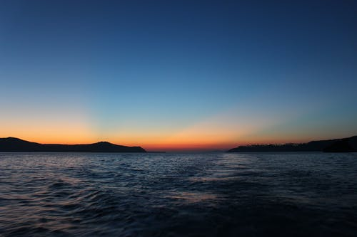 Fotos de stock gratuitas de azul, color del atardecer, Grecia