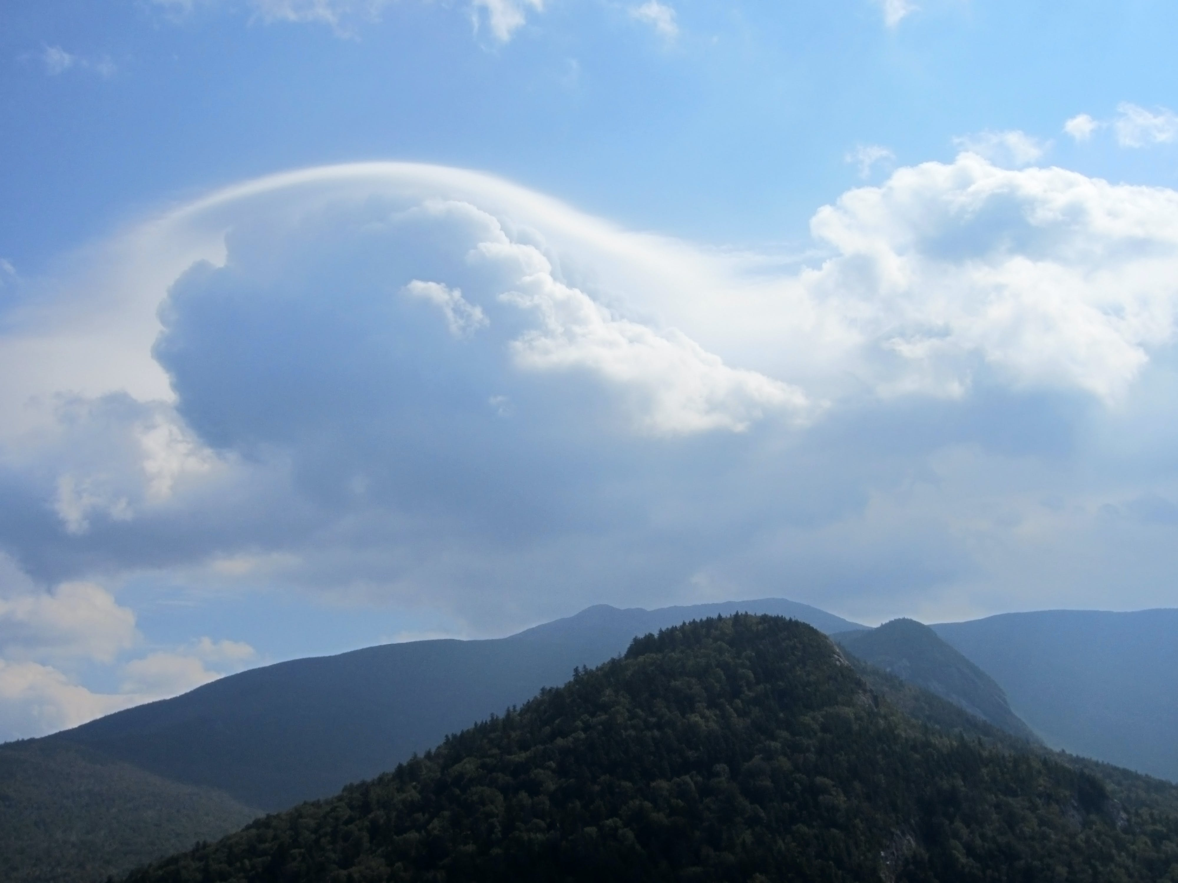 Free stock photo of mountains, sky, clouds