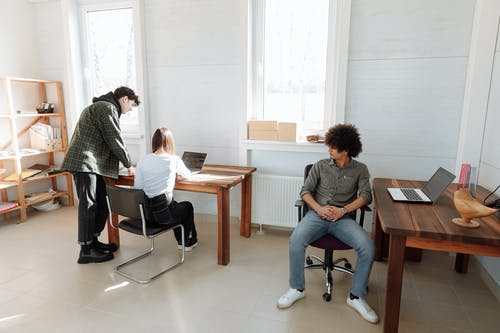 Free stock photo of 3 person, adult, at work