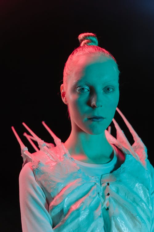 Portrait of Woman in Sci Fi Costume