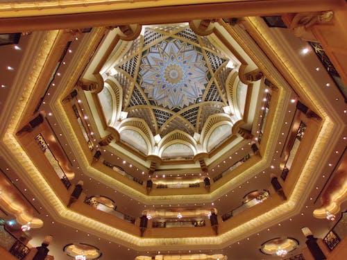 Interior Design of a Hotel's Ceiling