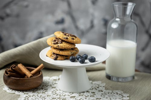 Free stock photo of baking, biscuit, blueberries