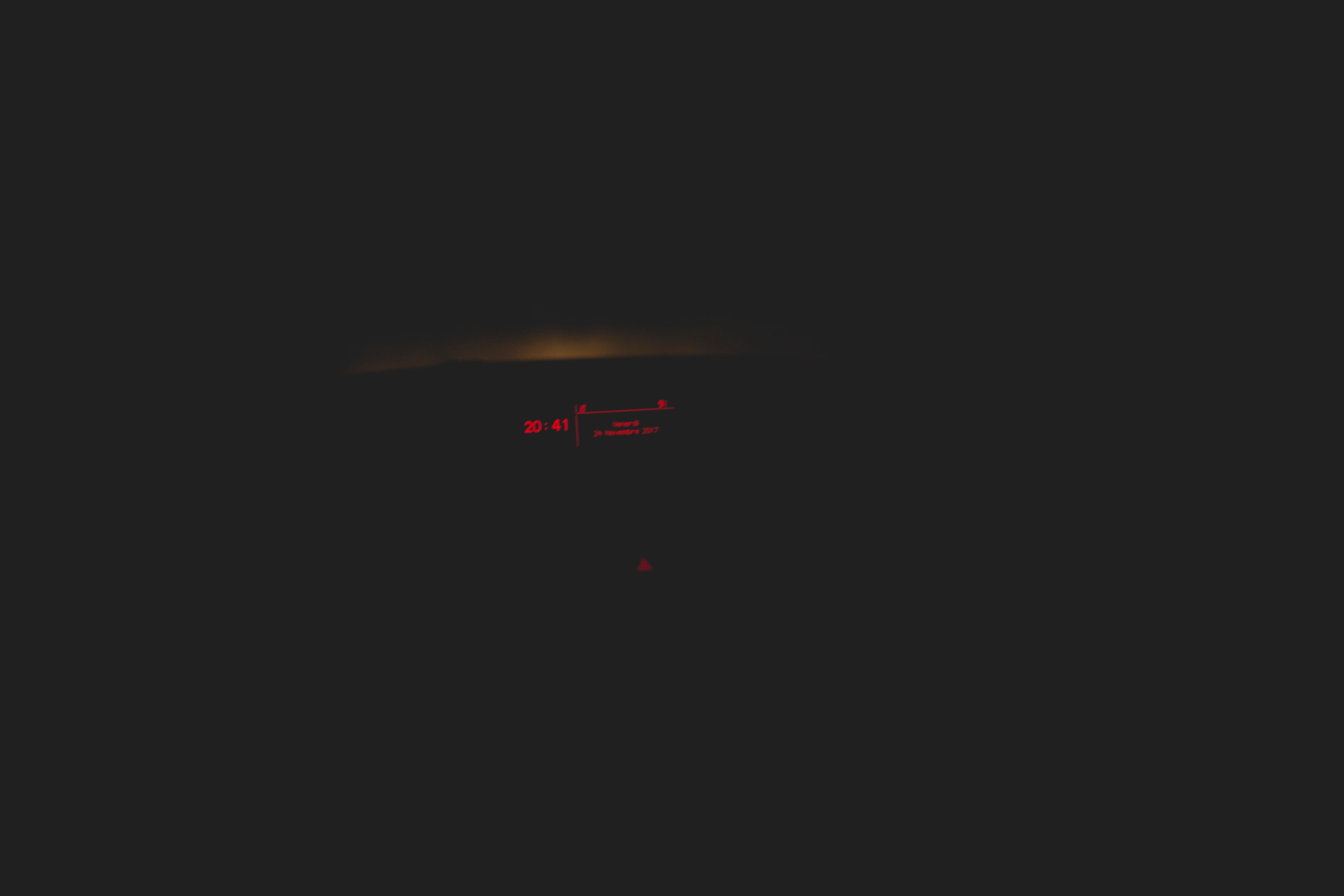 Geschwindigkeit, die dunkel wird