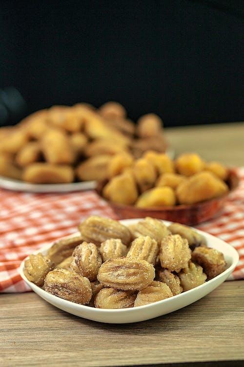 Free stock photo of american food, brazilian rissoles, churros