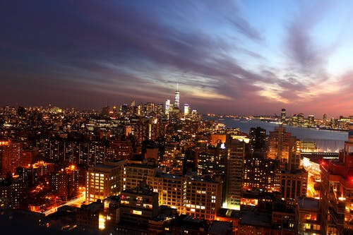 Immagine gratuita di architettura, business, centro città, cielo