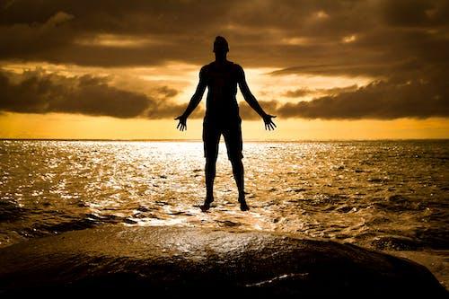Ảnh lưu trữ miễn phí về bãi biển hoàng hôn, bóng, đại dương