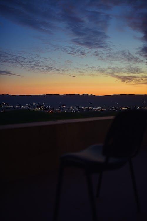 Free stock photo of balcony, chair, city