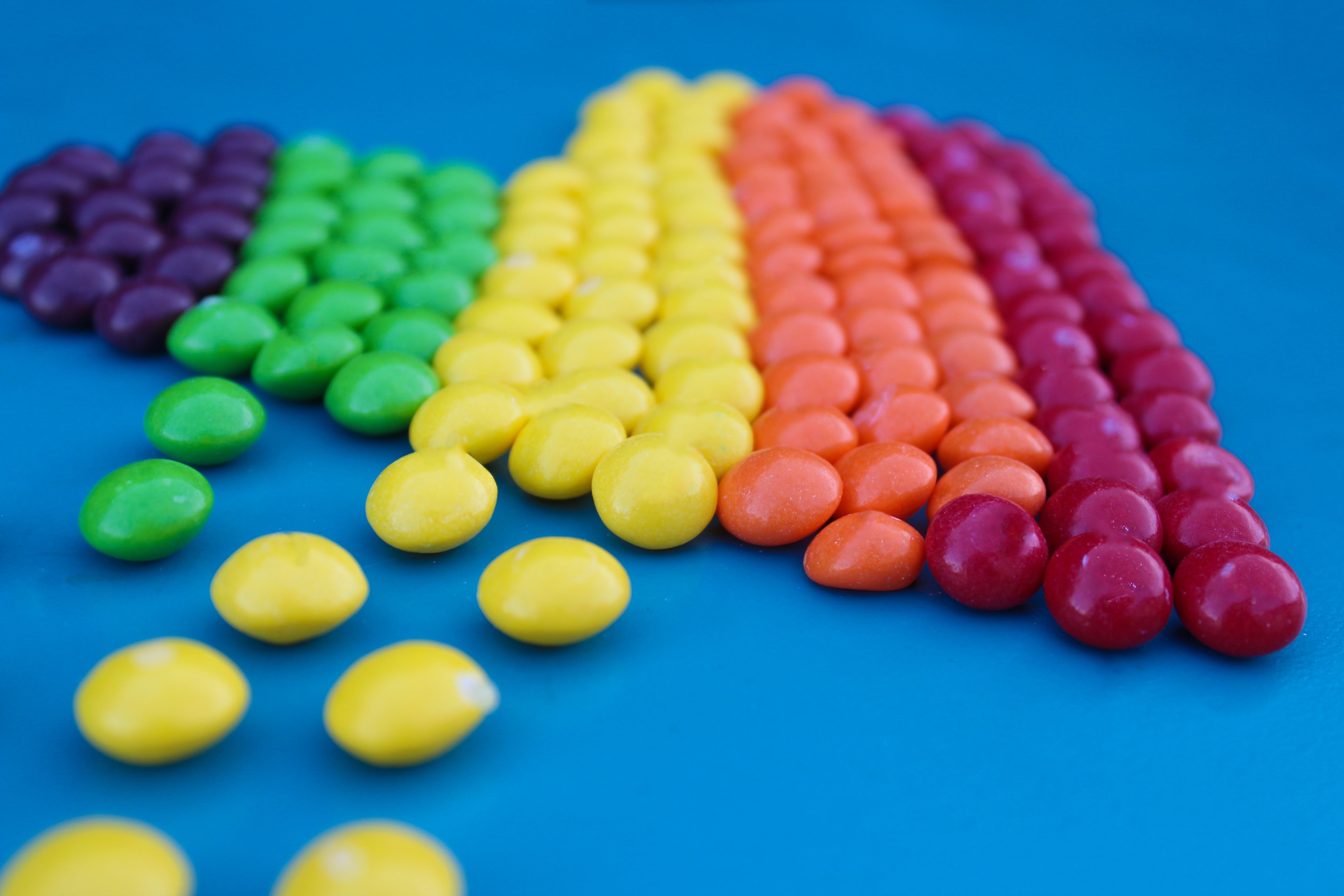 Assorted Color Nips