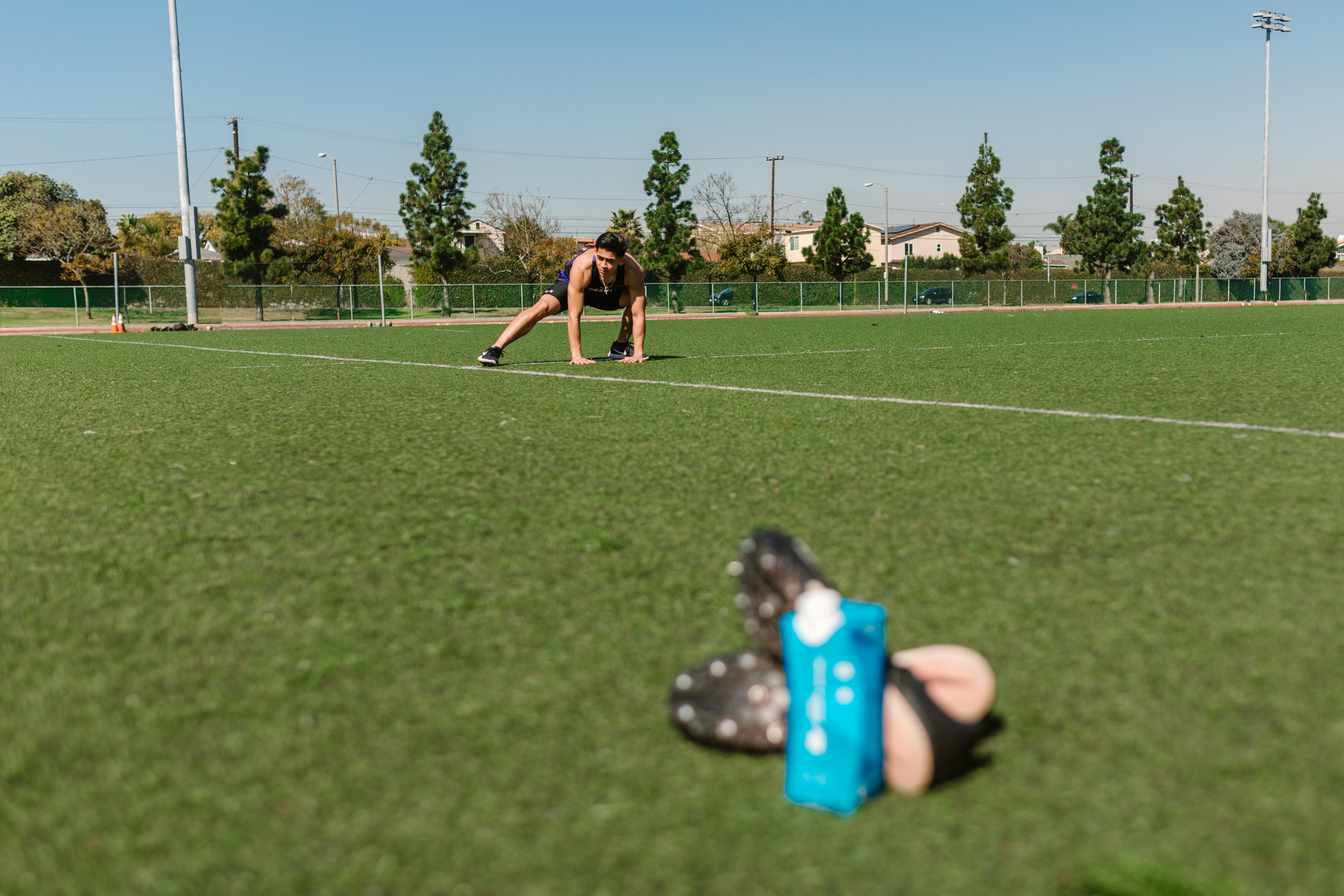 people field grass sport
