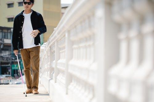 Immagine gratuita di bastone da passeggio, camminando, camminata laterale