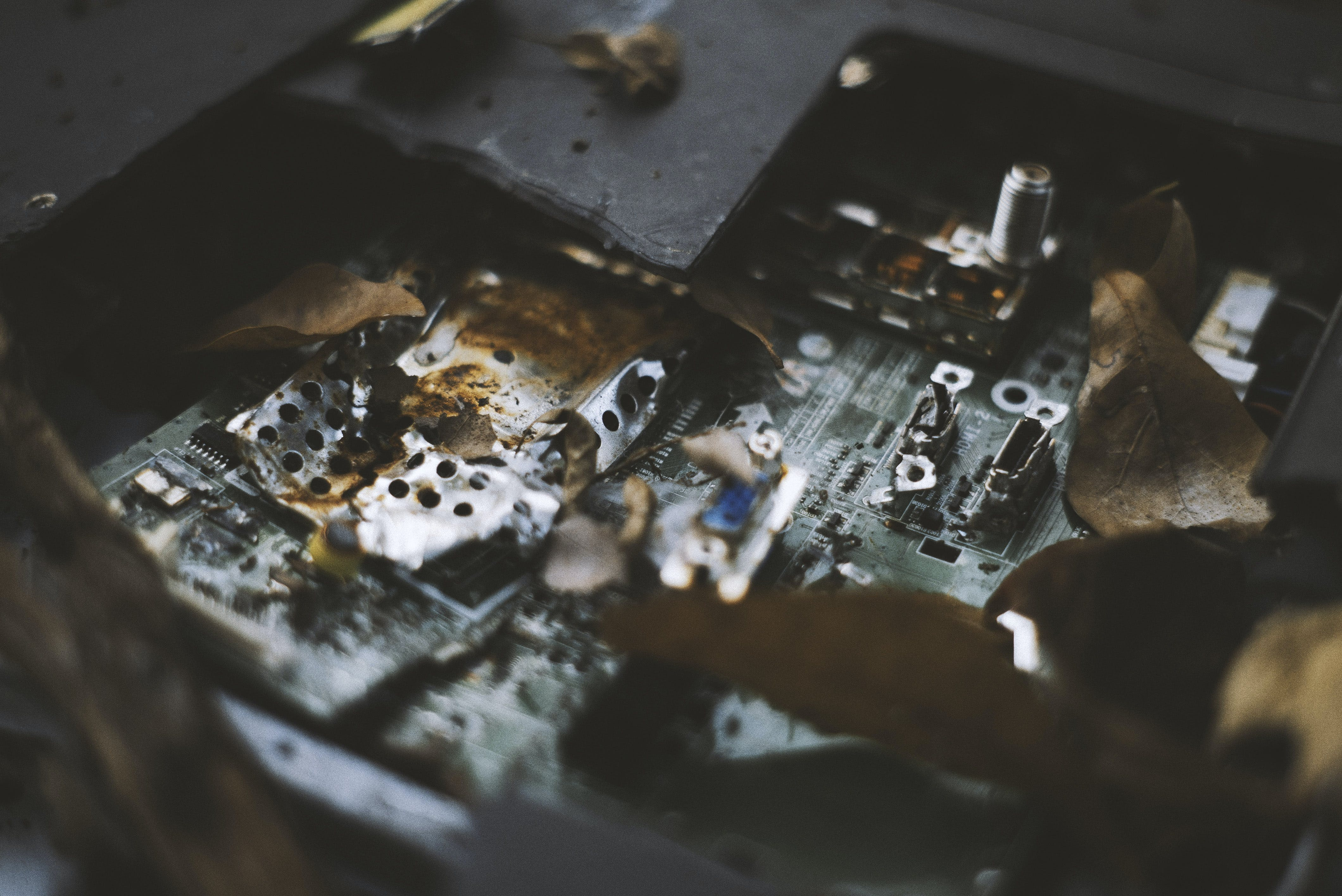 Free stock photo of circuit board, death, decaying, electrical