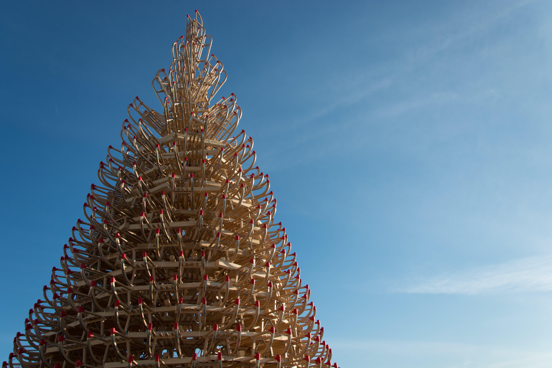 Free stock photo of christmass, christmass tree, holidays, sleigh tree