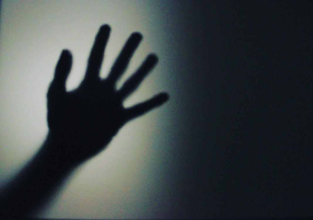 Silhouette Person's Hand