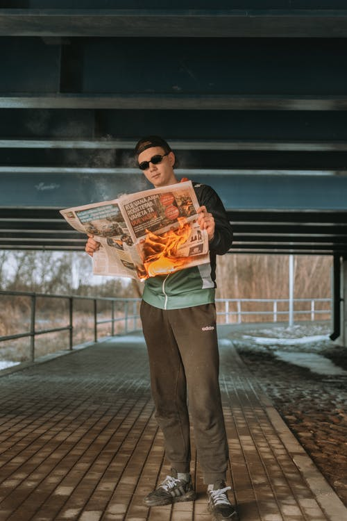 Gratis stockfoto met brand, brandend, brug