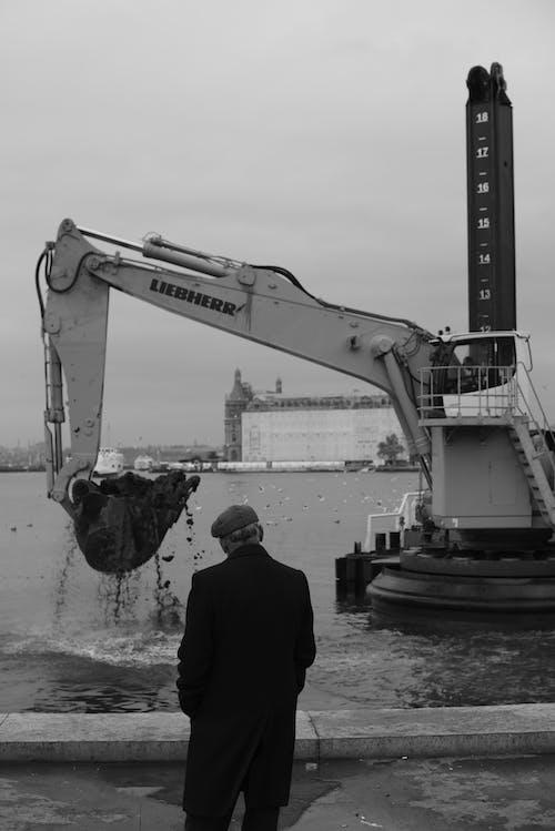 Immagine gratuita di acqua, bianco e nero, costruzione