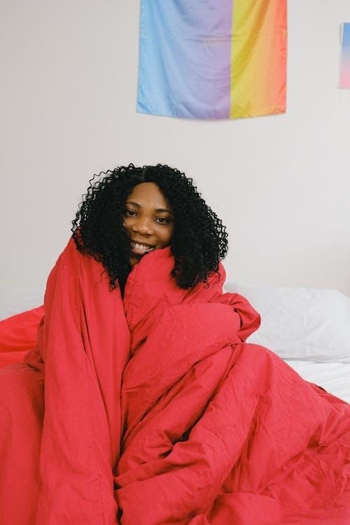 Gratis stockfoto met aangenaam, Afro-Amerikaanse vrouw, alleen