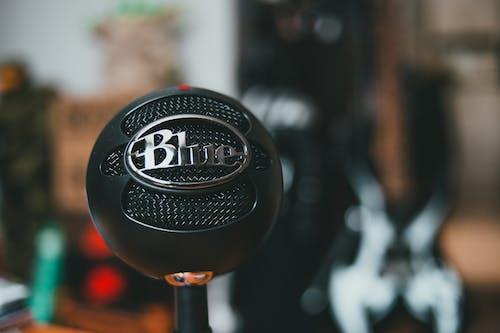Black Round Microphone