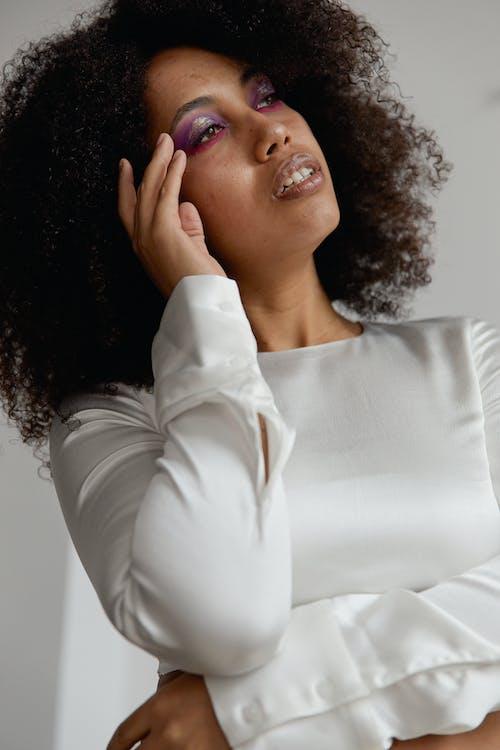 Foto d'estoc gratuïta de afro, cabell, cabells