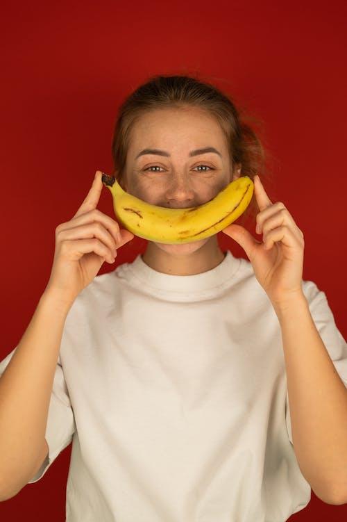 Бесплатное стоковое фото с аромат, банан, белый