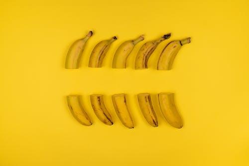 Foto stok gratis bisa dimakan, buah, irisan pisang