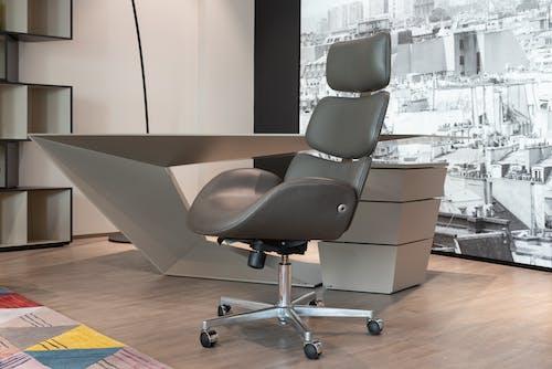Foto d'estoc gratuïta de cadira d'oficina, disseny modern, escriptori