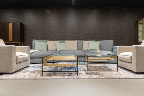 Kostenloses Stock Foto zu boden, bunt, couch