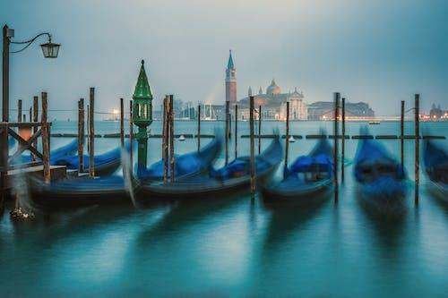 Photos gratuites de architecture, aube, bateau
