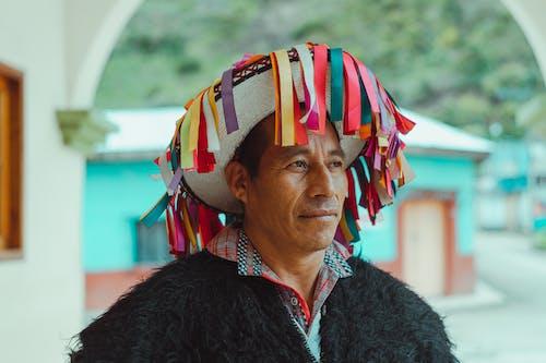Portrait Photo Of Man Wearing Traditional Headwear