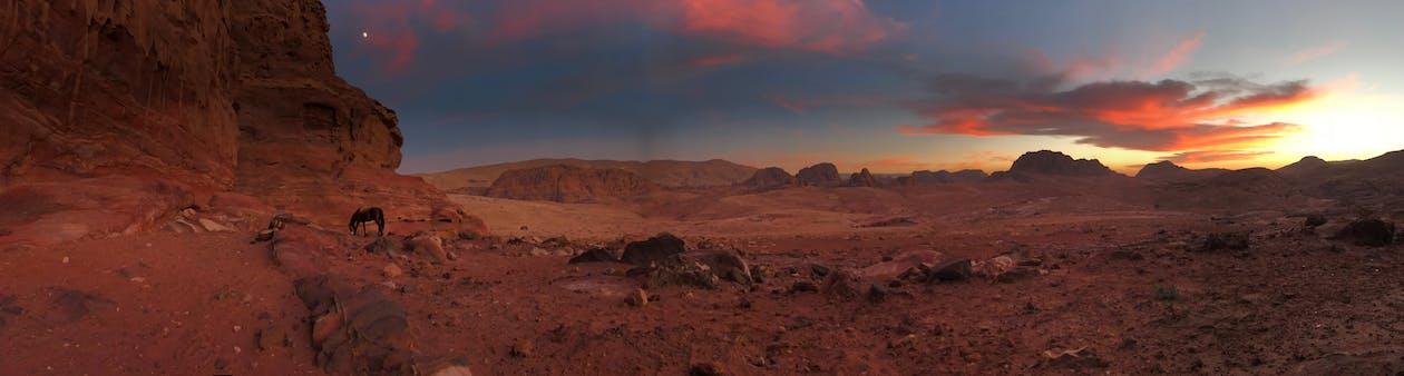 Геологія, гори, Захід сонця