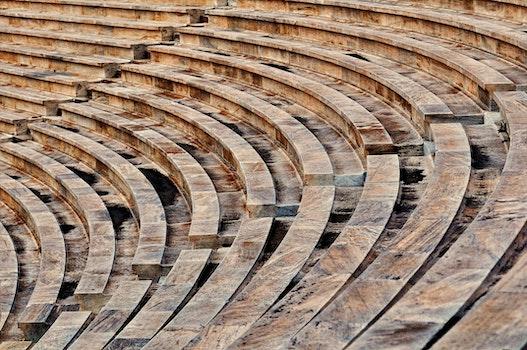 High Angle Shot of Sports Stadium