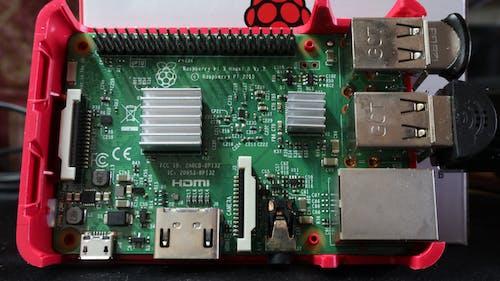 Free stock photo of minicomputer, raspberry, raspberry pi