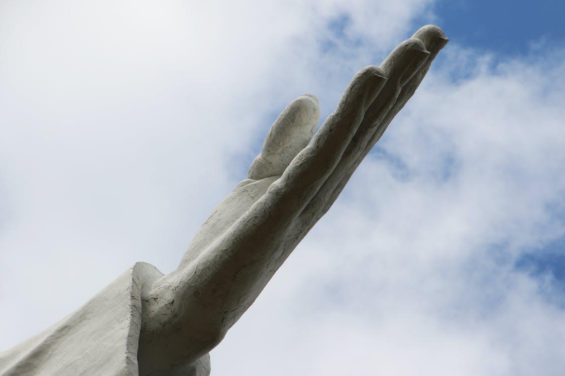 Hand Ceramic Sculpture