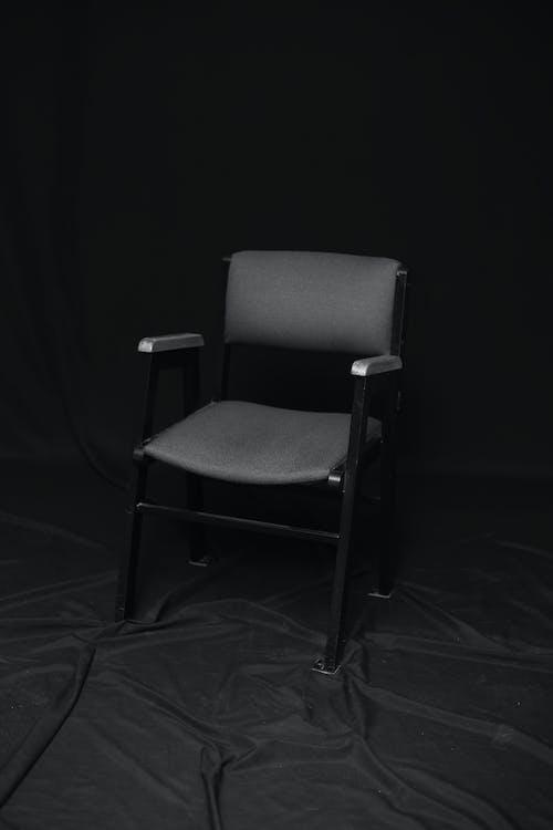 家具, 黒と白の肖像画の無料の写真素材